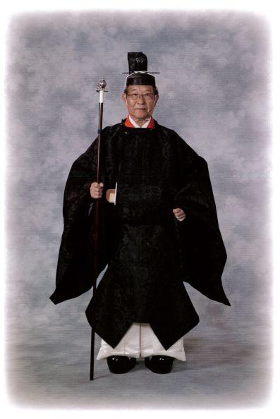 大阪天満宮・四條畷神社 寺井種画宮司